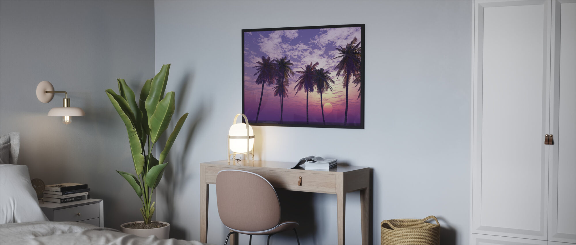Beautiful Sunset - Framed print - Bedroom