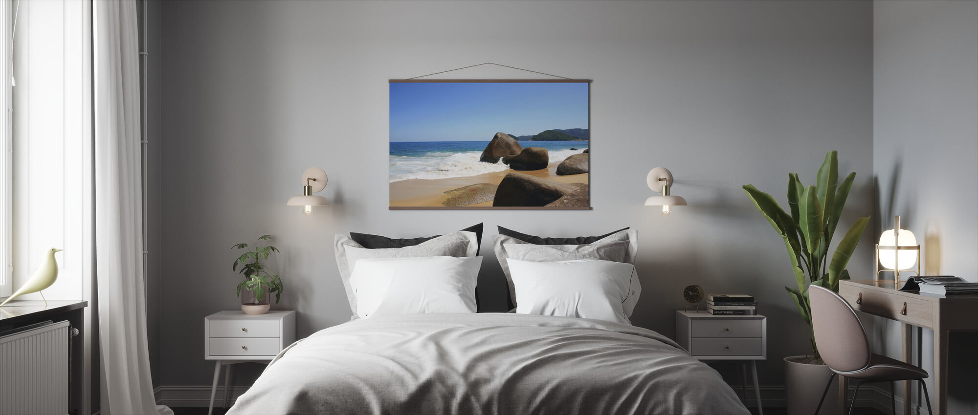 Kaunis ranta Brasiliassa - Juliste - Makuuhuone