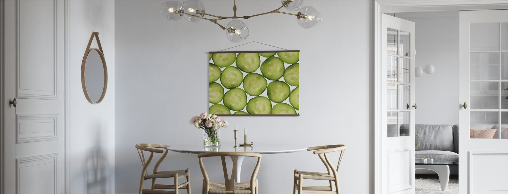 Slices of Cucumber - Poster - Kitchen