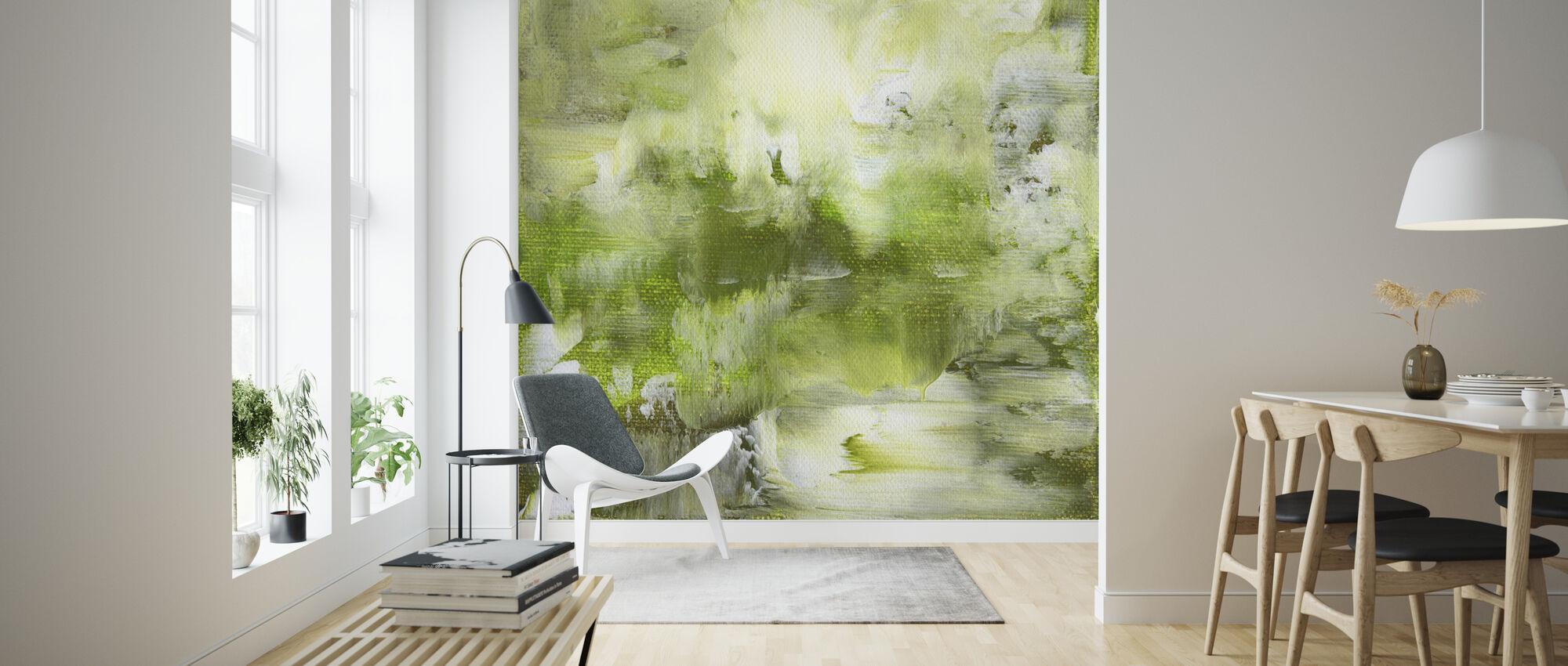 Grøn nuancer - Tapet - Stue