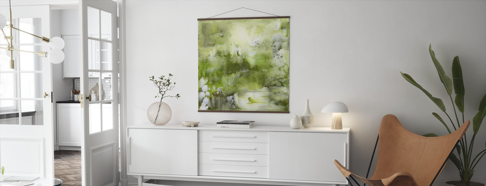Shades of Green - Poster - Living Room