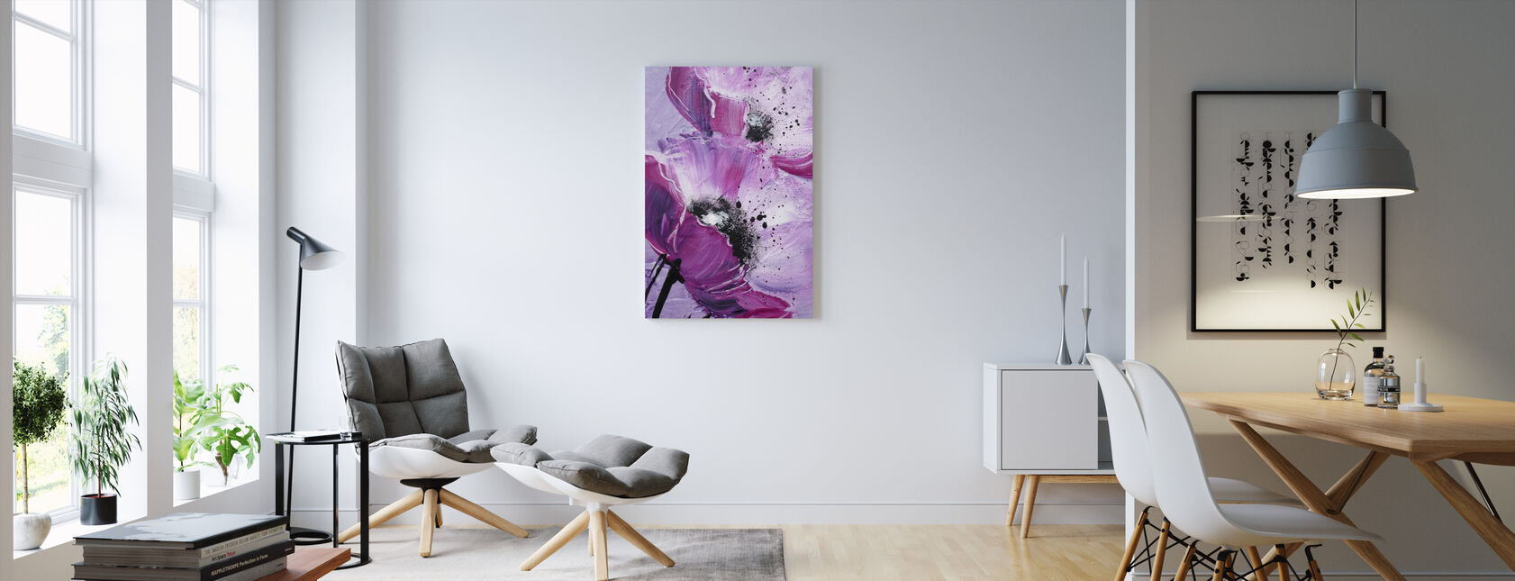 Lila Leinwandbilder – Leinwandbilder online – Photowall