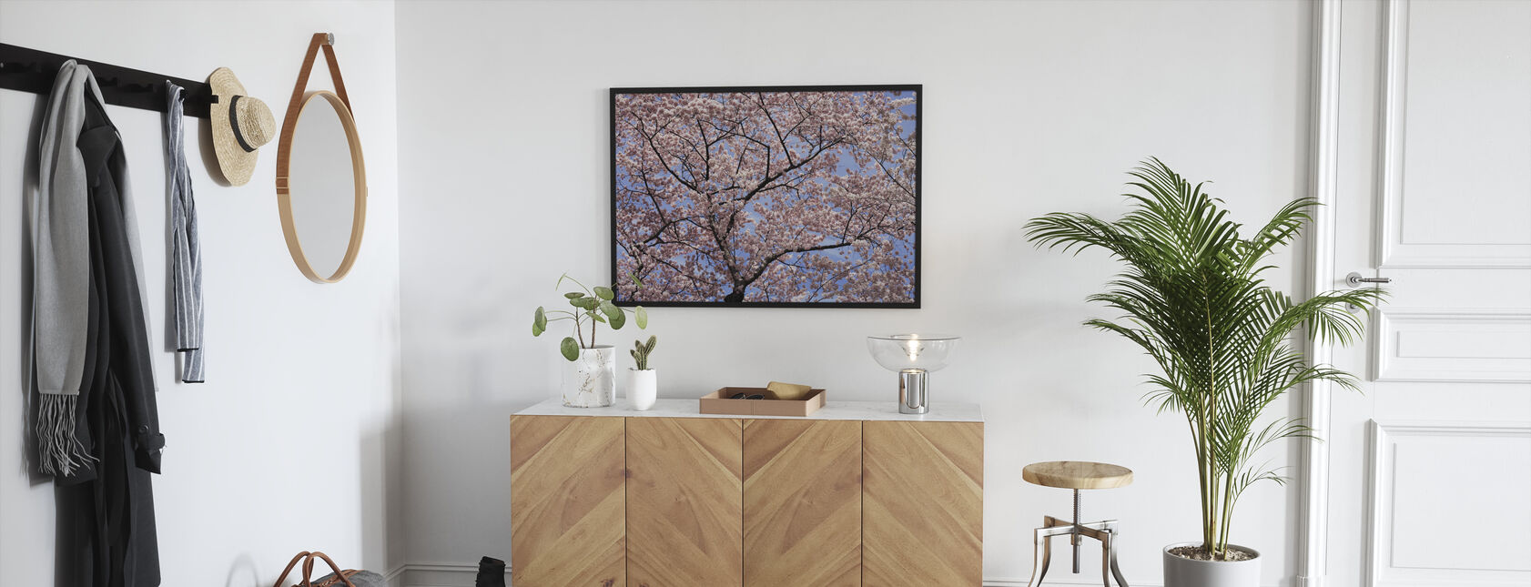 Blooming Cherry Tree - Framed print - Hallway