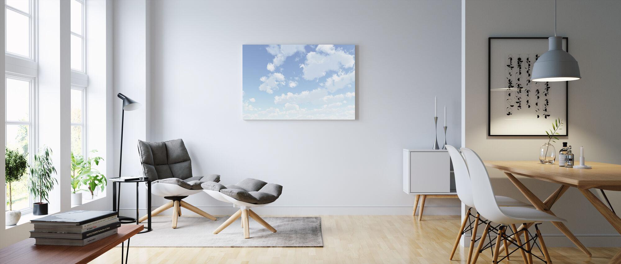 Cloudscape - Obraz na płótnie - Pokój dzienny