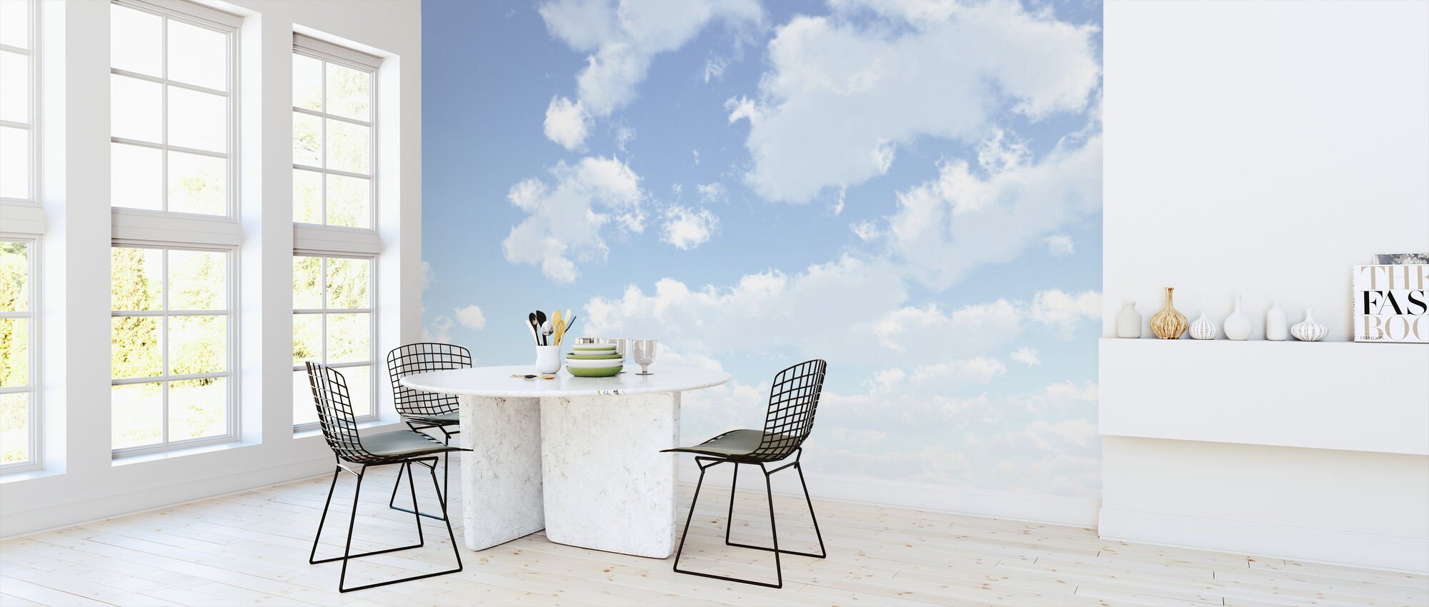 Cloudscape - Wallpaper - Kitchen