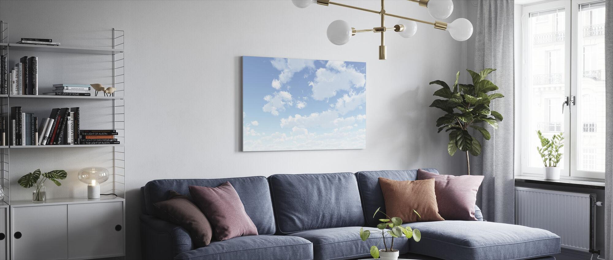 Cloudscape - Canvastaulu - Olohuone