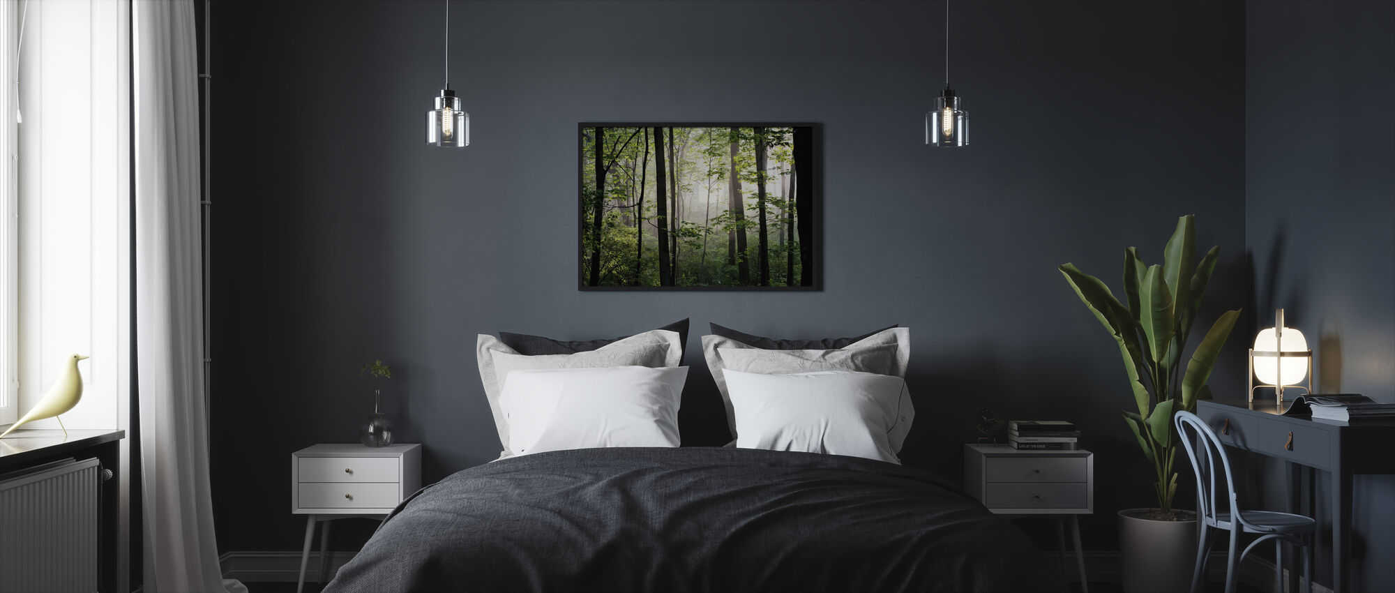 Early Morning - Framed print - Bedroom
