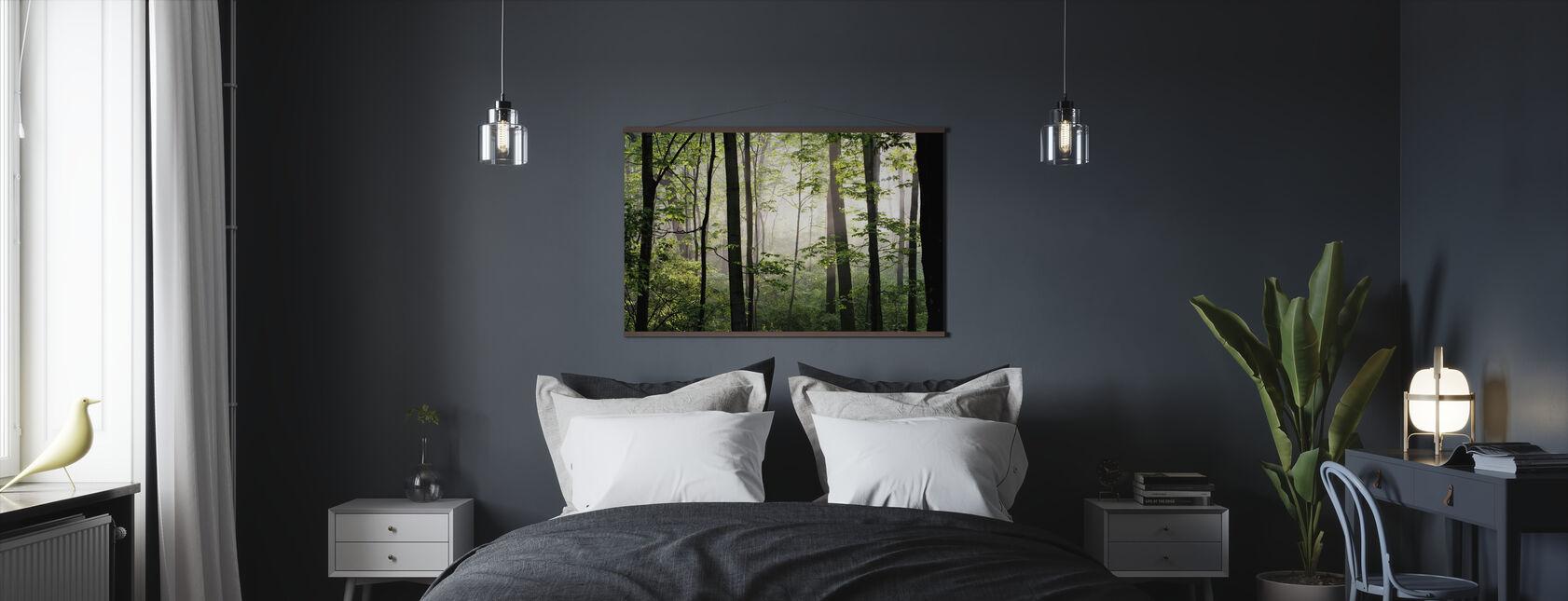 Früh Morgen - Poster - Schlafzimmer