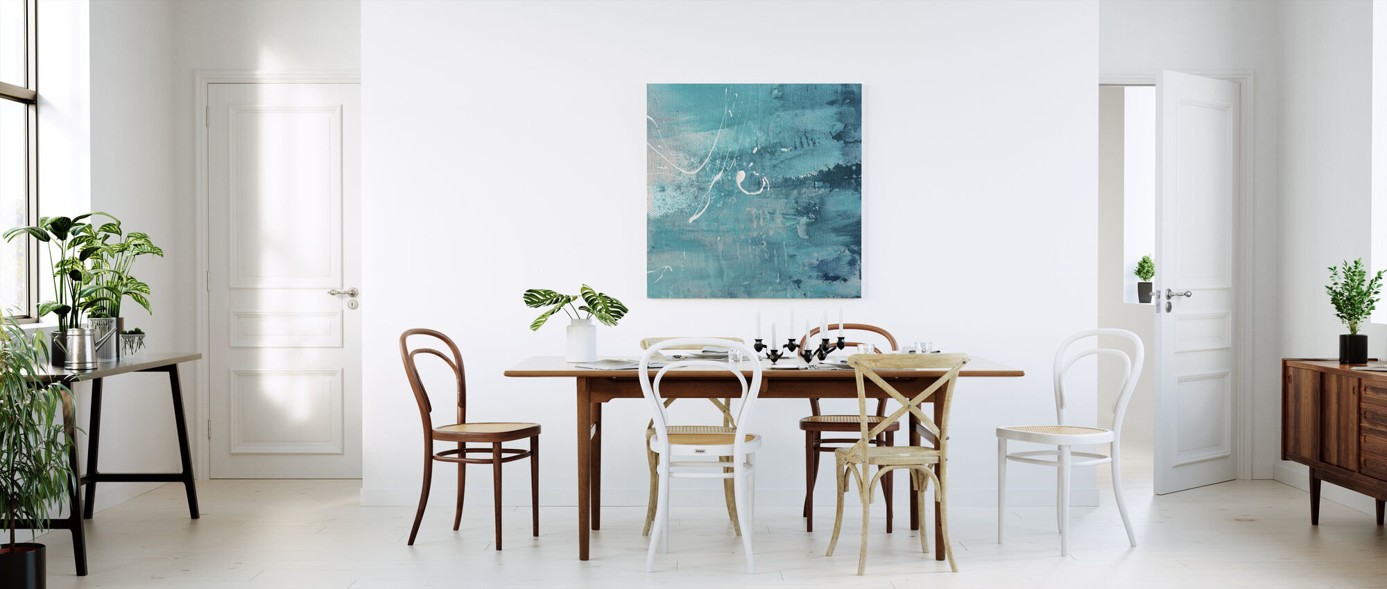 After Turquoise - Canvas print - Kitchen