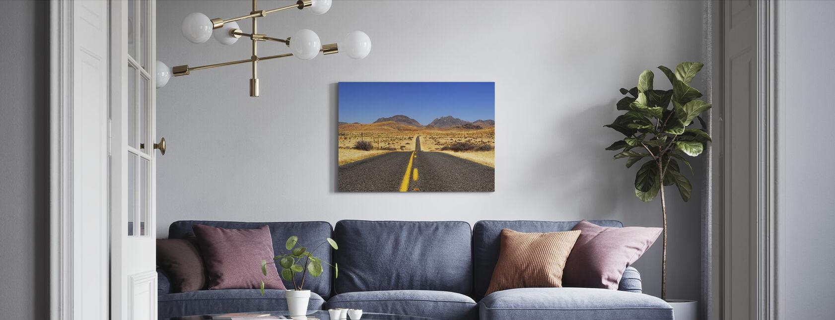 Mistet Highway - Lerretsbilde - Stue