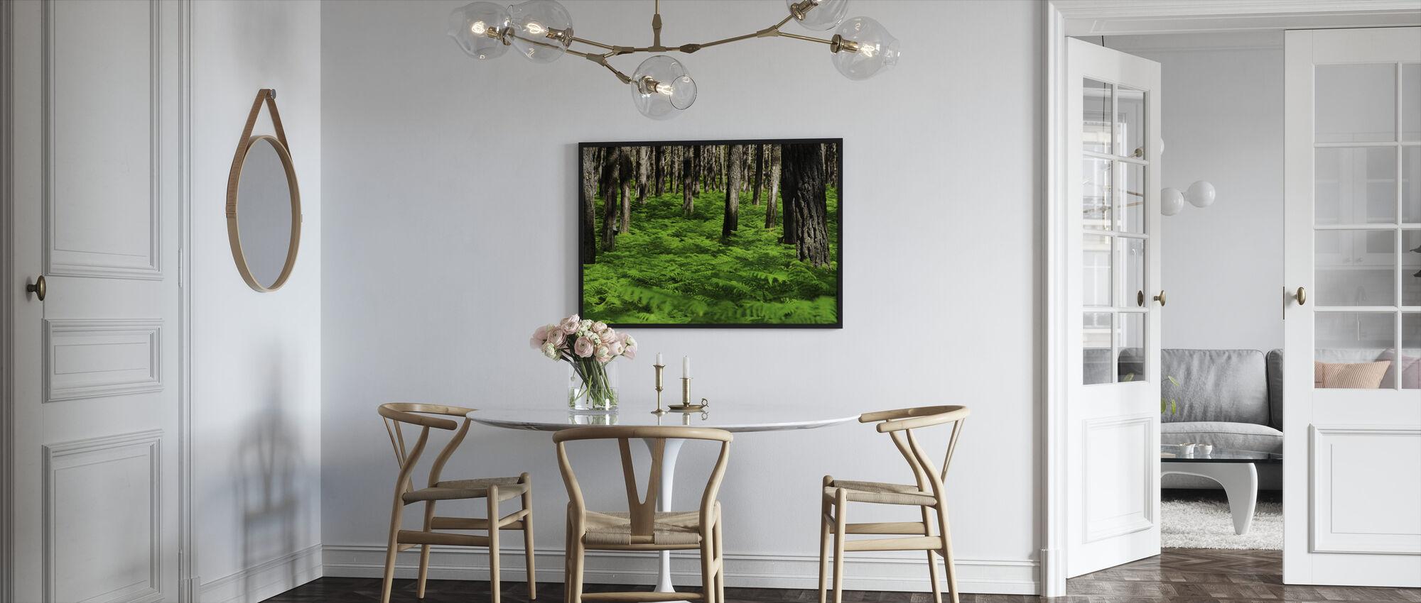 Green Harmony - Framed print - Kitchen