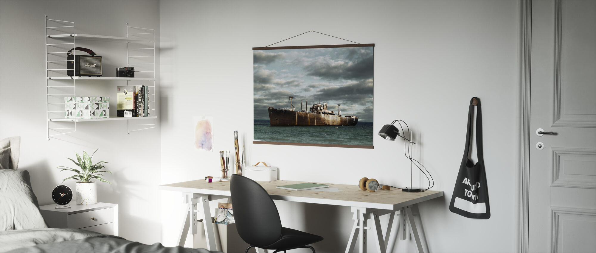 Ship Wreck - Poster - Office