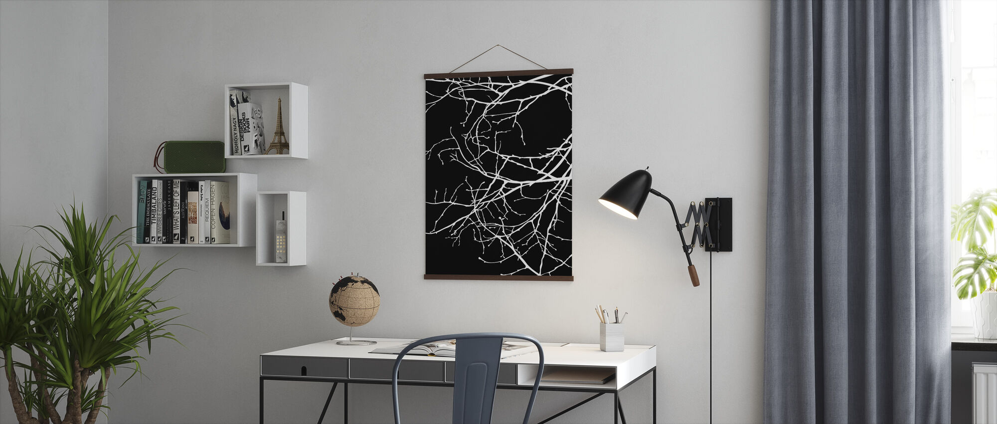 Twiggy - White - Poster - Office