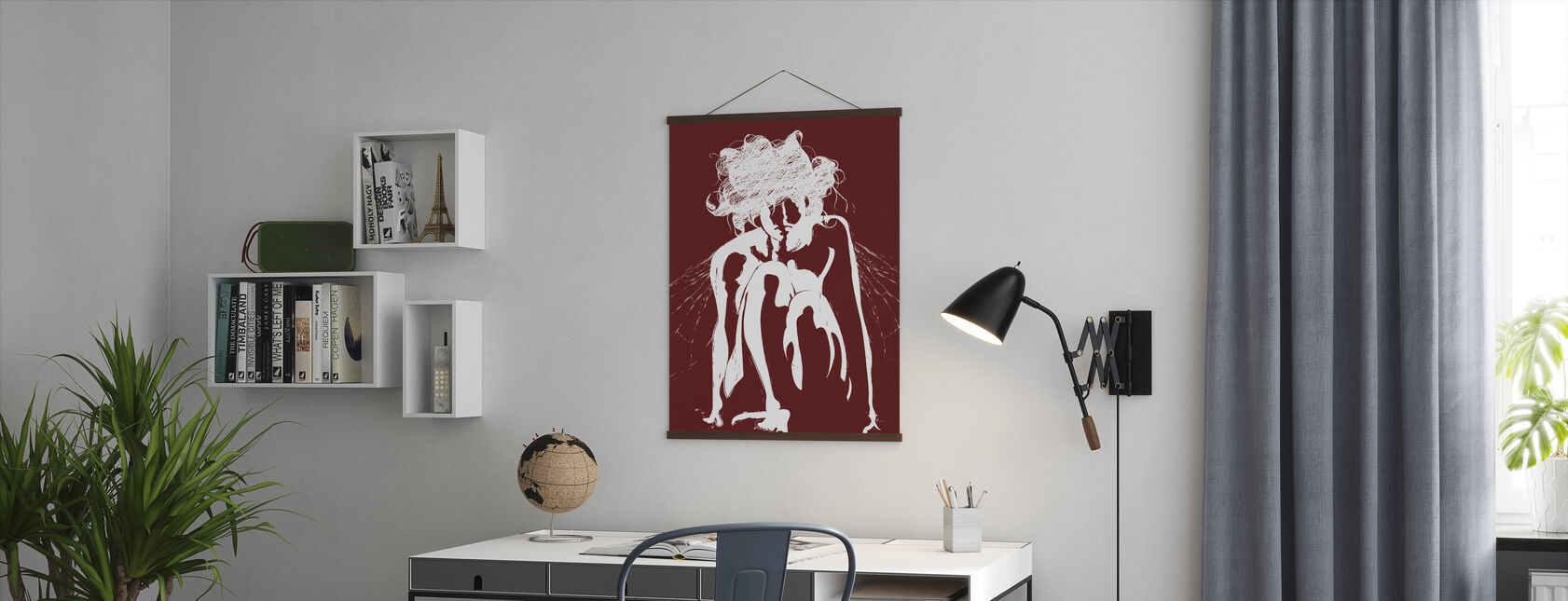 Tinker - Red - Poster - Office