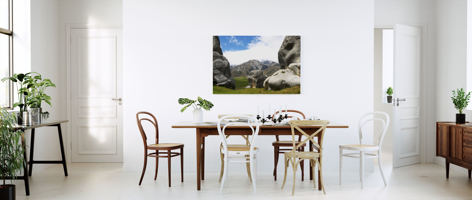 Nz View - Canvas print - Kitchen