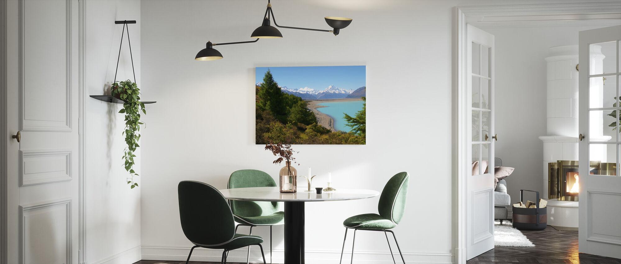 Pukaki-meer - Canvas print - Keuken