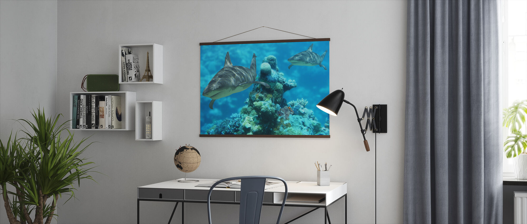Shark Bommie - Poster - Office
