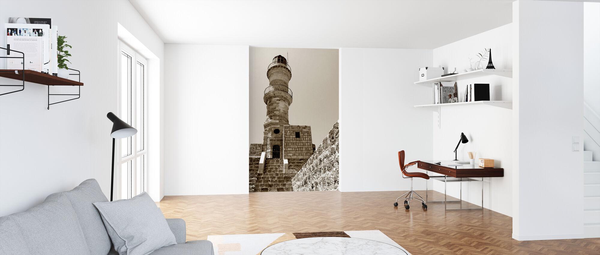 Fyrtårn - Tapet - Kontor