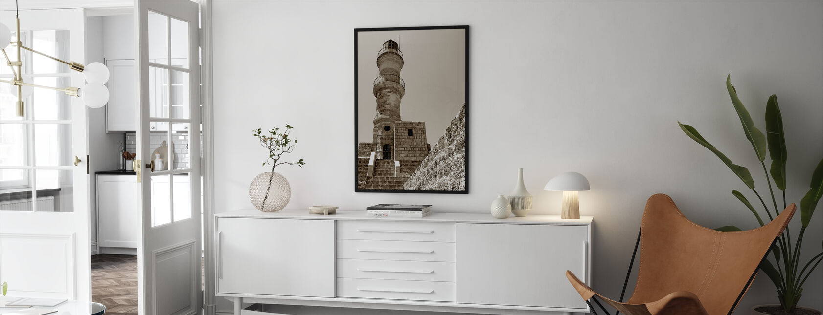 Lighthouse - Framed print - Living Room