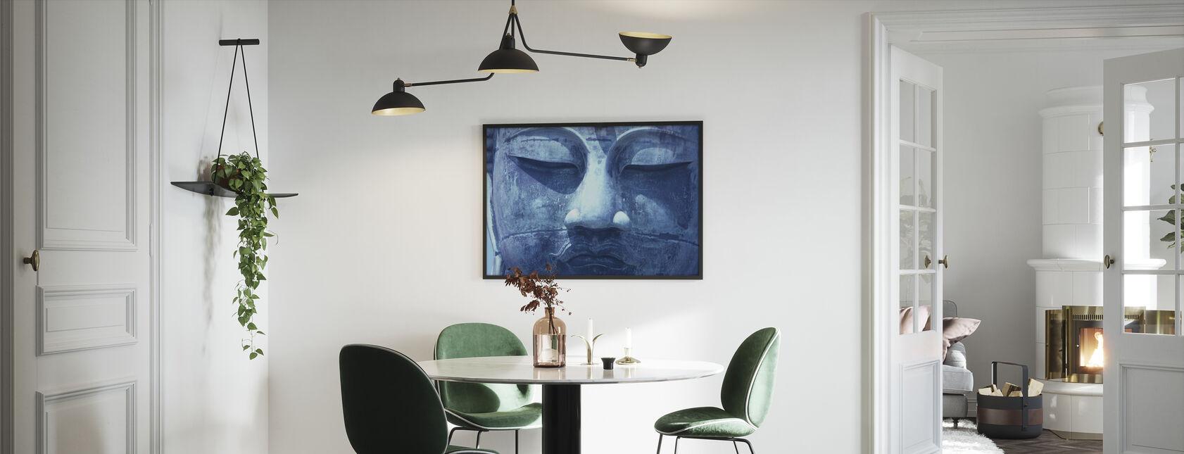 Blue Buddha - Framed print - Kitchen