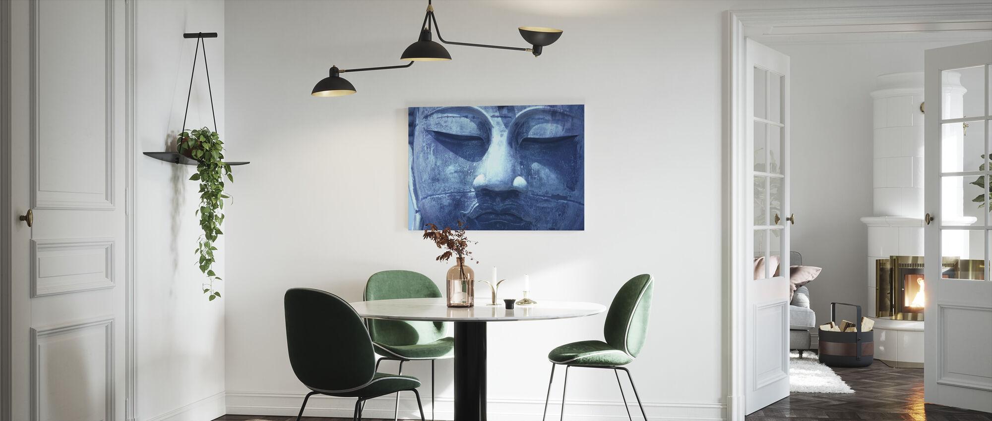 Blue Buddha - Canvas print - Kitchen
