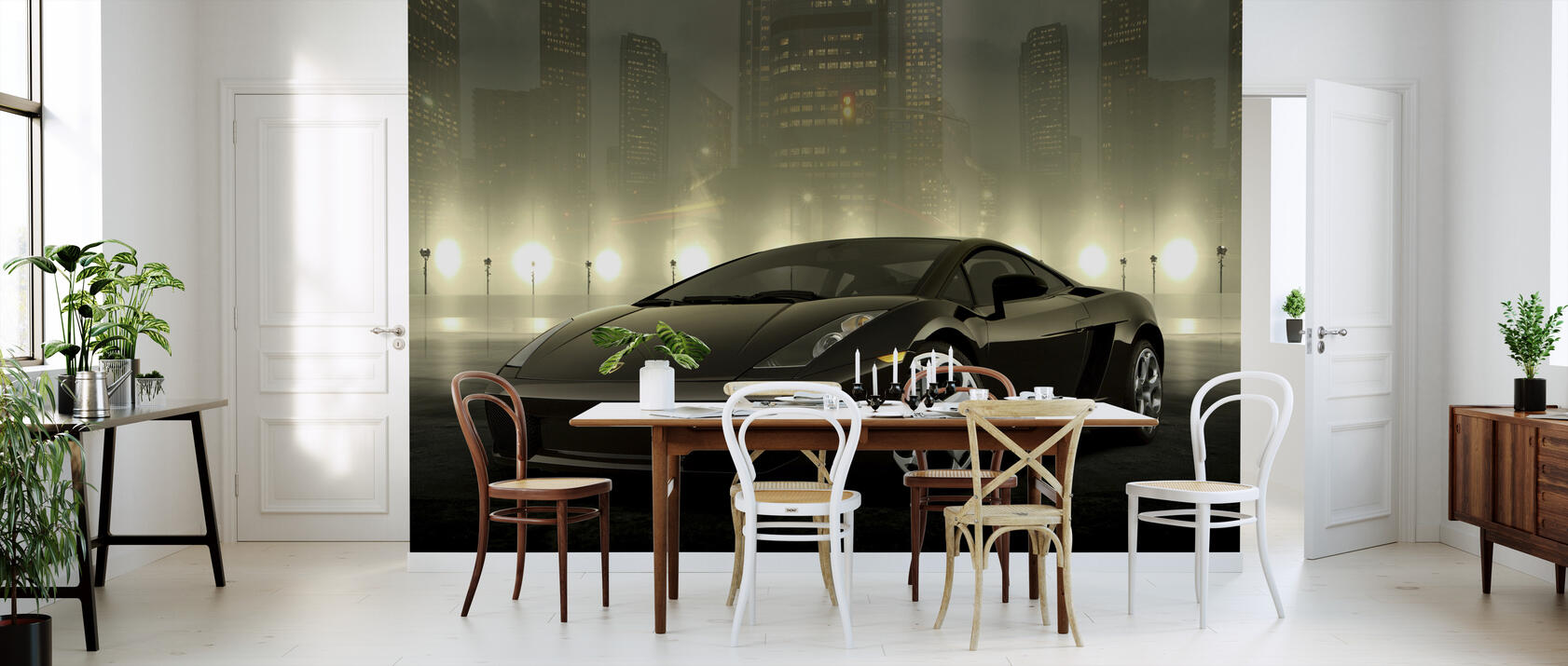 dark lamborghini fototapete nach ma photowall. Black Bedroom Furniture Sets. Home Design Ideas
