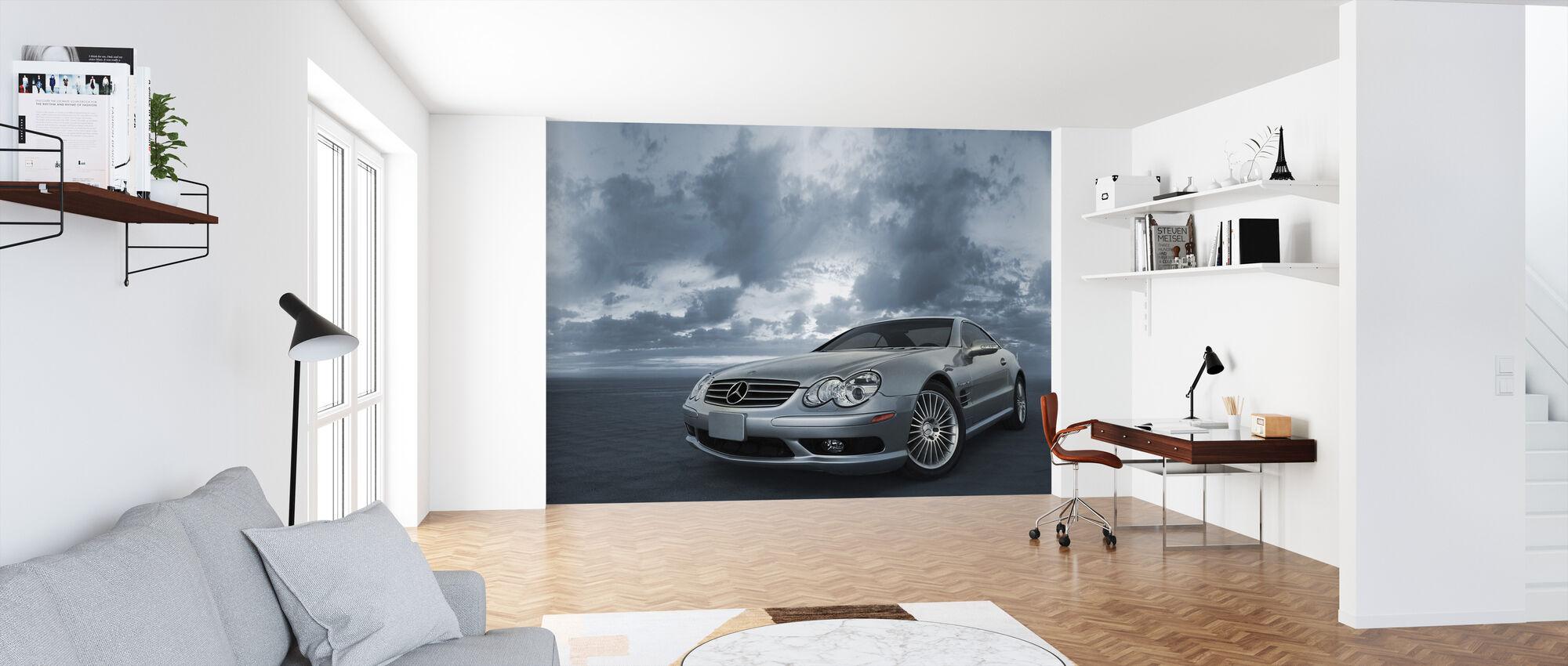 Mercedes-Benz SL55 - Wallpaper - Office