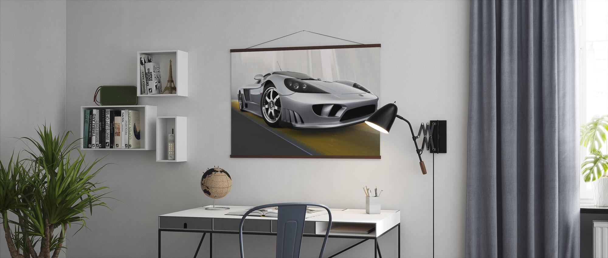 Saleen S7 - Poster - Kantoor