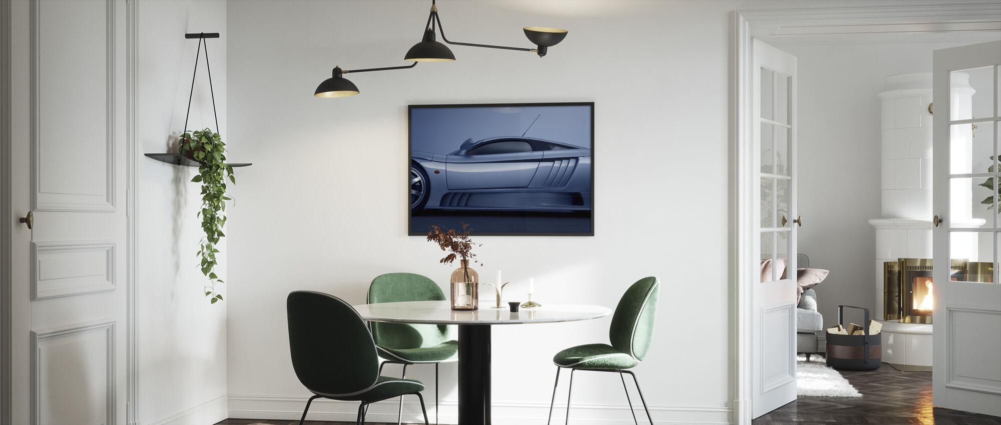 Saleen S7 Sininen - Kehystetty kuva - Keittiö