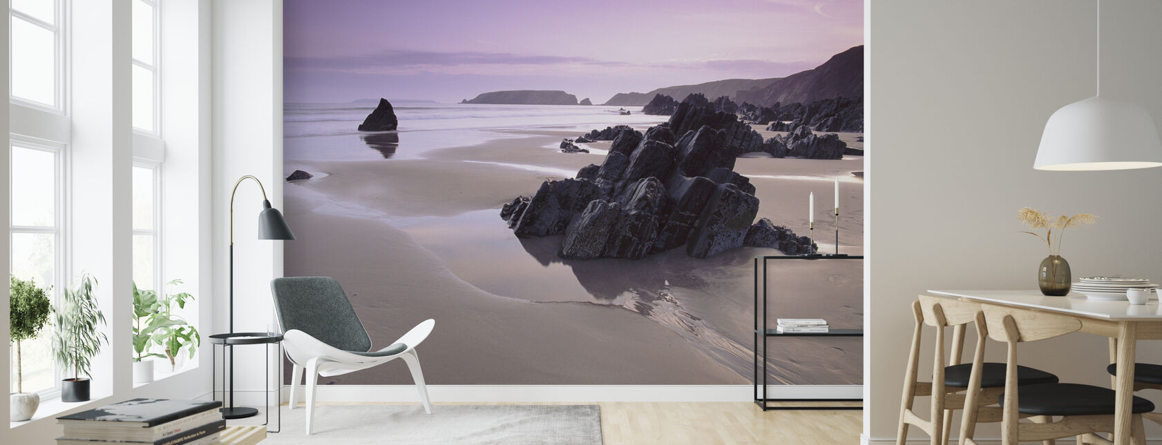 Pembrokeshire - Wallpaper - Living Room