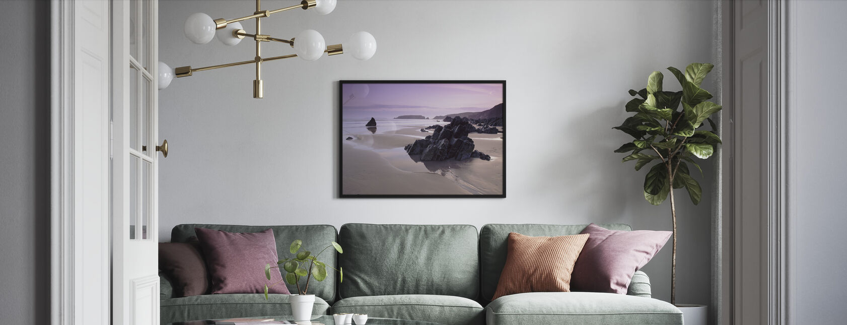 Pembrokeshire - Framed print - Living Room