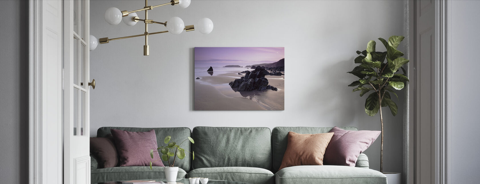 Pembrokeshire - Canvas print - Living Room