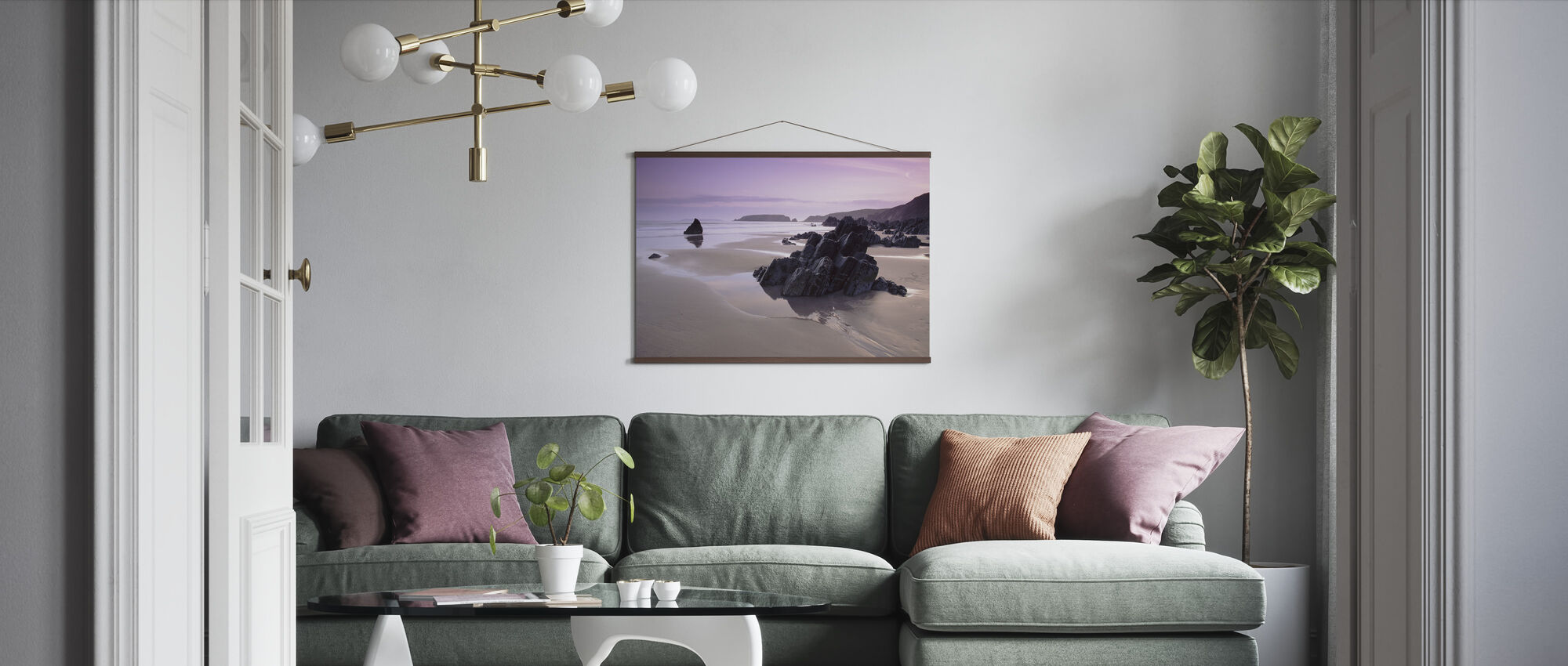 Pembrokeshire - Poster - Living Room