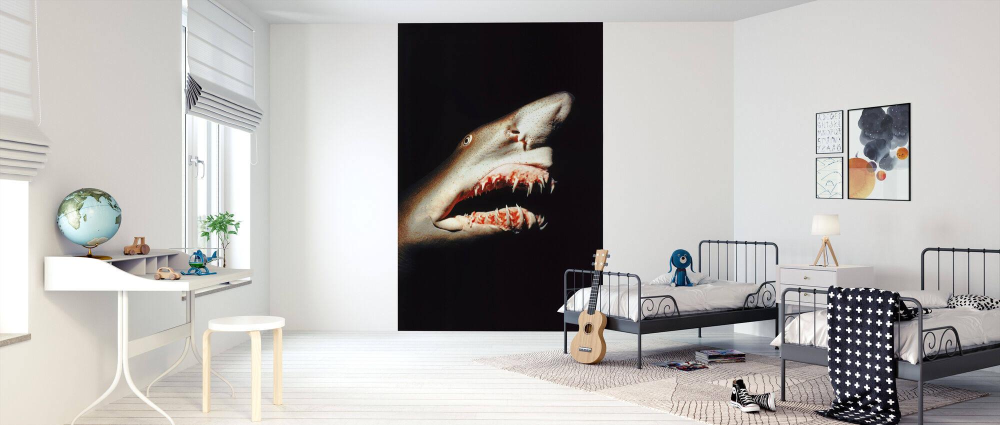 Shark - Wallpaper - Kids Room