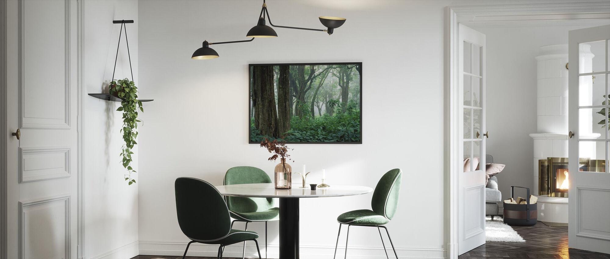 Trooppinen metsä - Kehystetty kuva - Keittiö