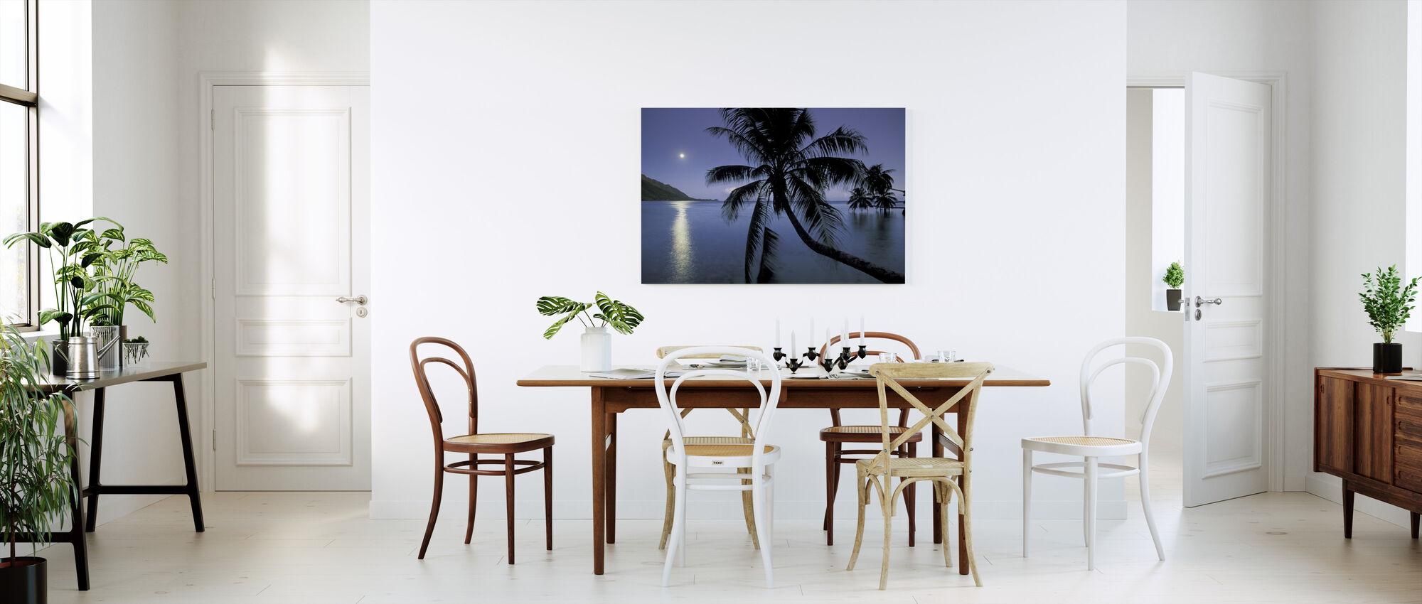 Dream Island - Canvas print - Kitchen