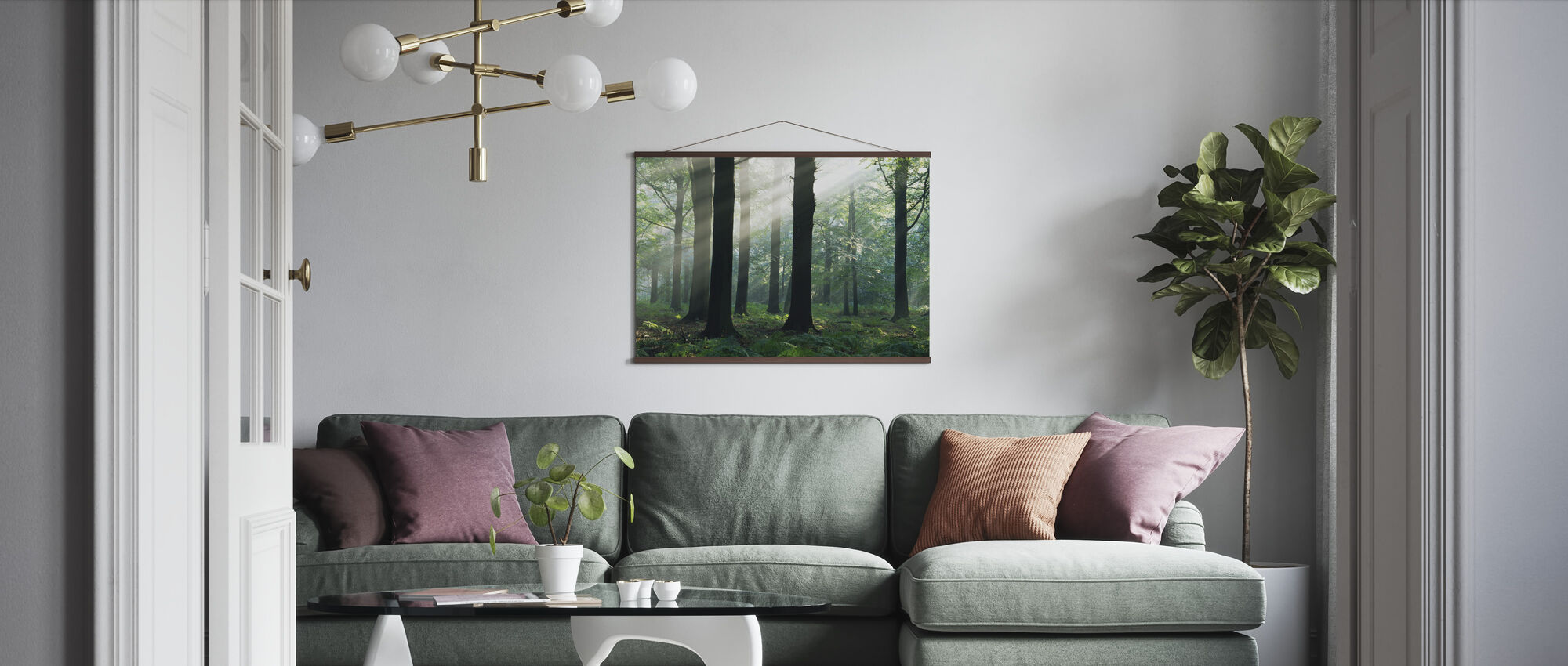 Morning Sunshine - Poster - Living Room