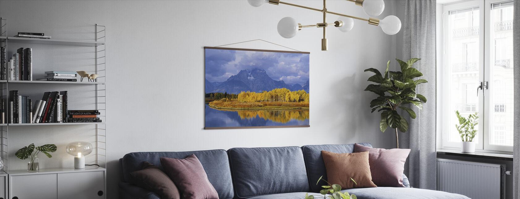 Grand Teton - Poster - Living Room