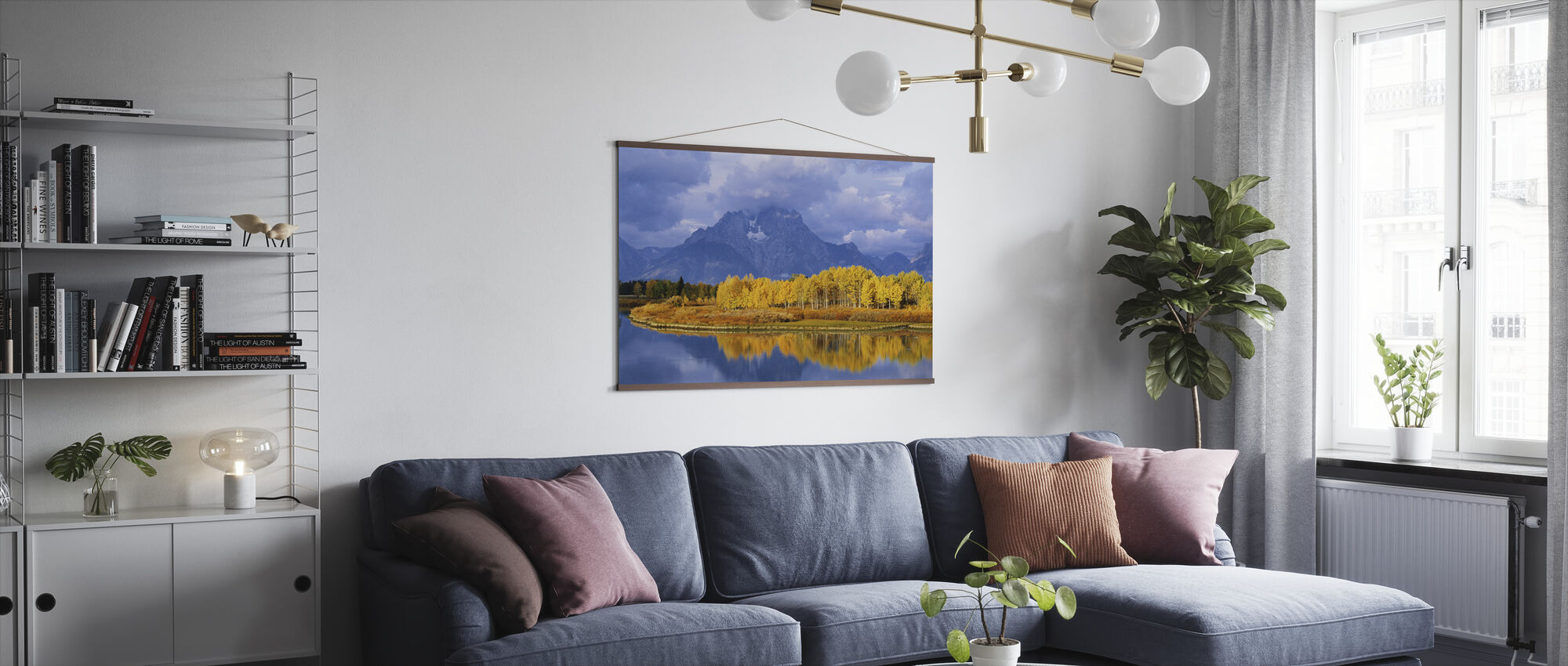 Grand Teton - Poster - Living Room