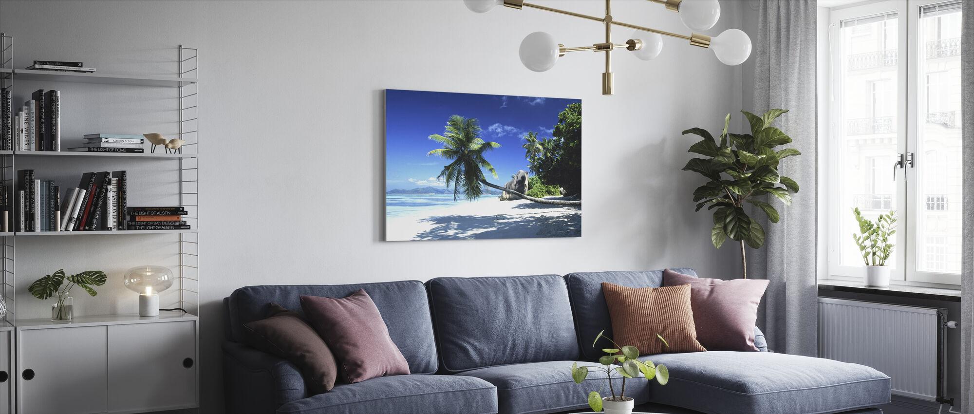 Het paradijs - Canvas print - Woonkamer