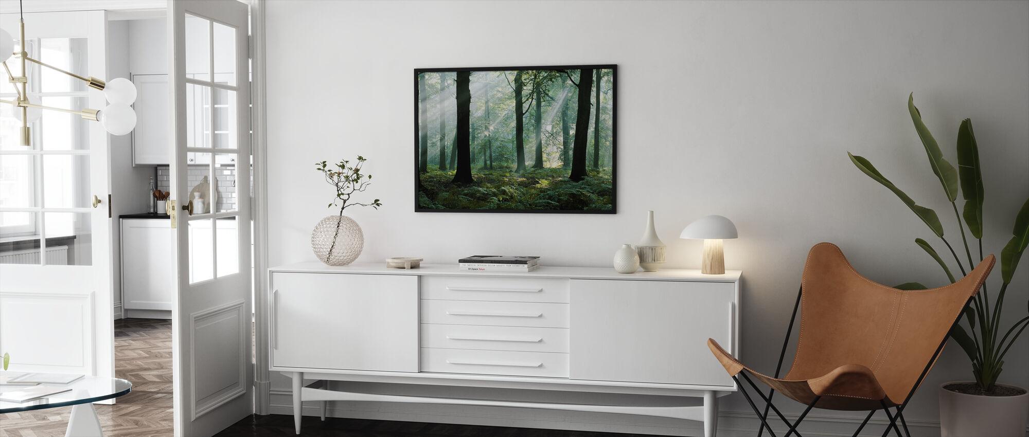 August Morning - Framed print - Living Room