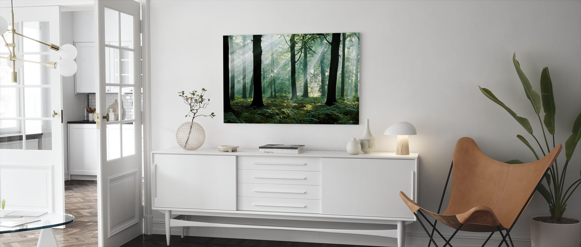 August Morning - Canvas print - Living Room