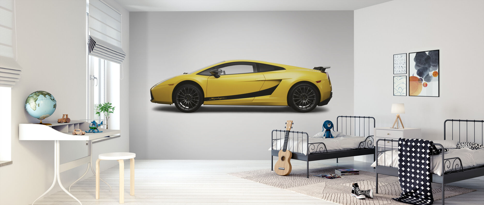 Superleggera - Wallpaper - Kids Room