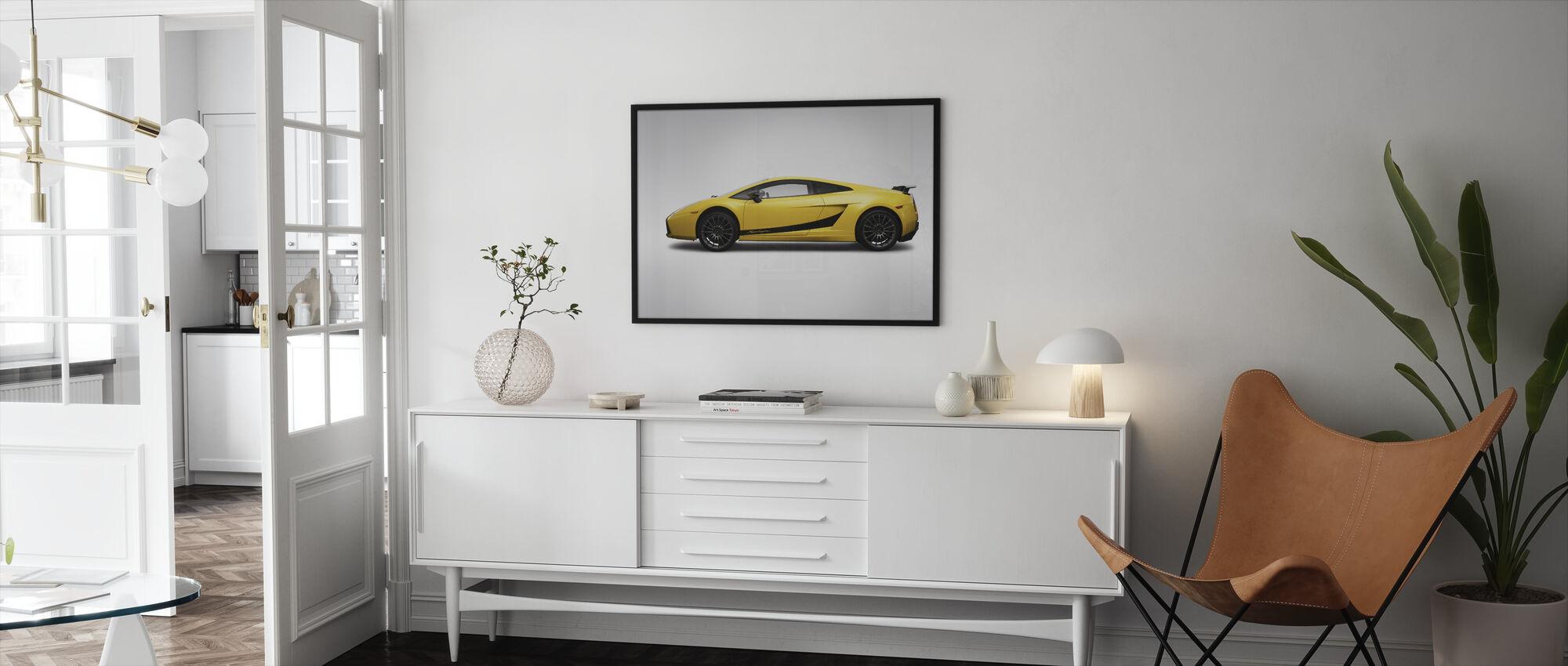 Superleggera - Framed print - Living Room