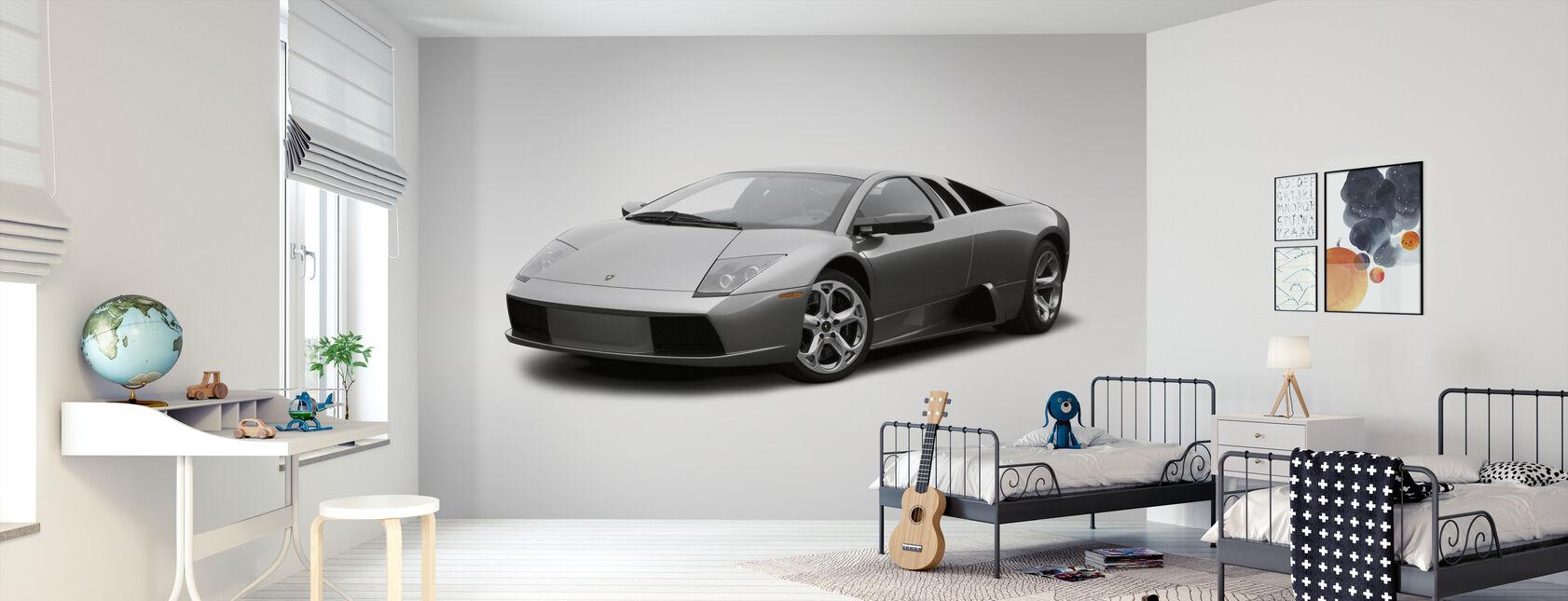 Lamborghini - Tapeta - Pokój dziecięcy