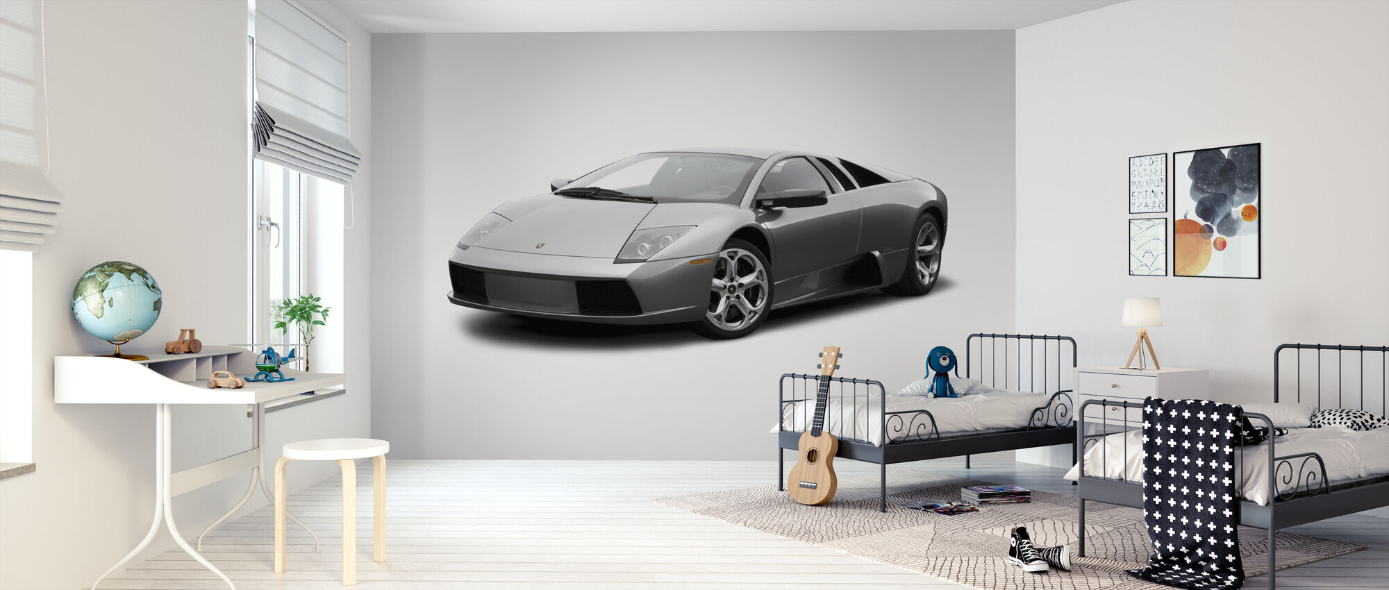Lamborghini - Behang - Kinderkamer