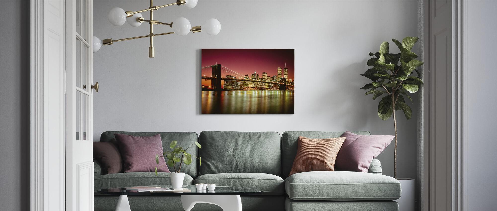 Brooklyn Bridge - Canvas print - Living Room