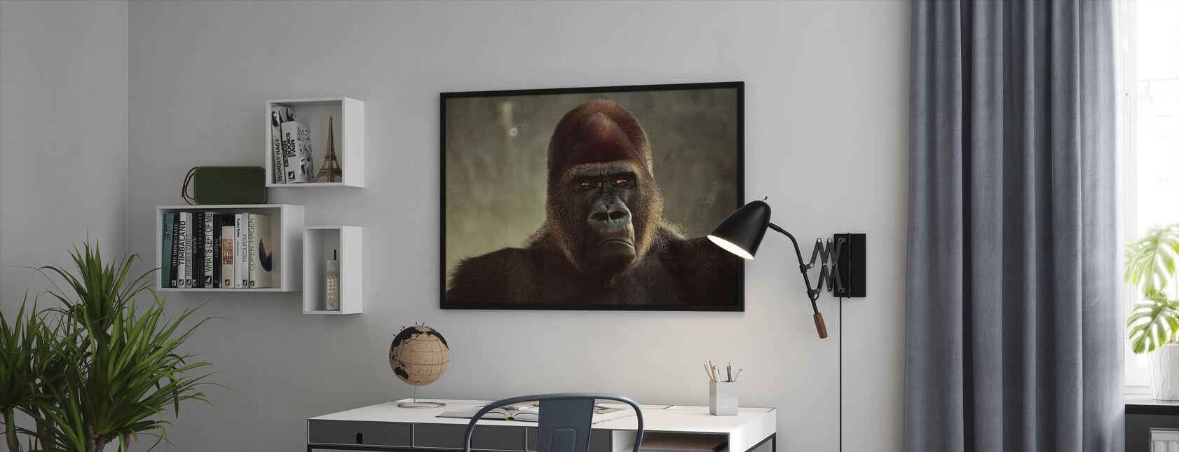 Mighty Gorilla - Framed print - Office