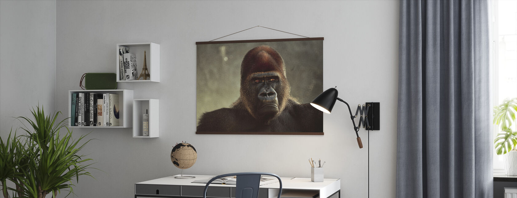 Mighty Gorilla - Poster - Office