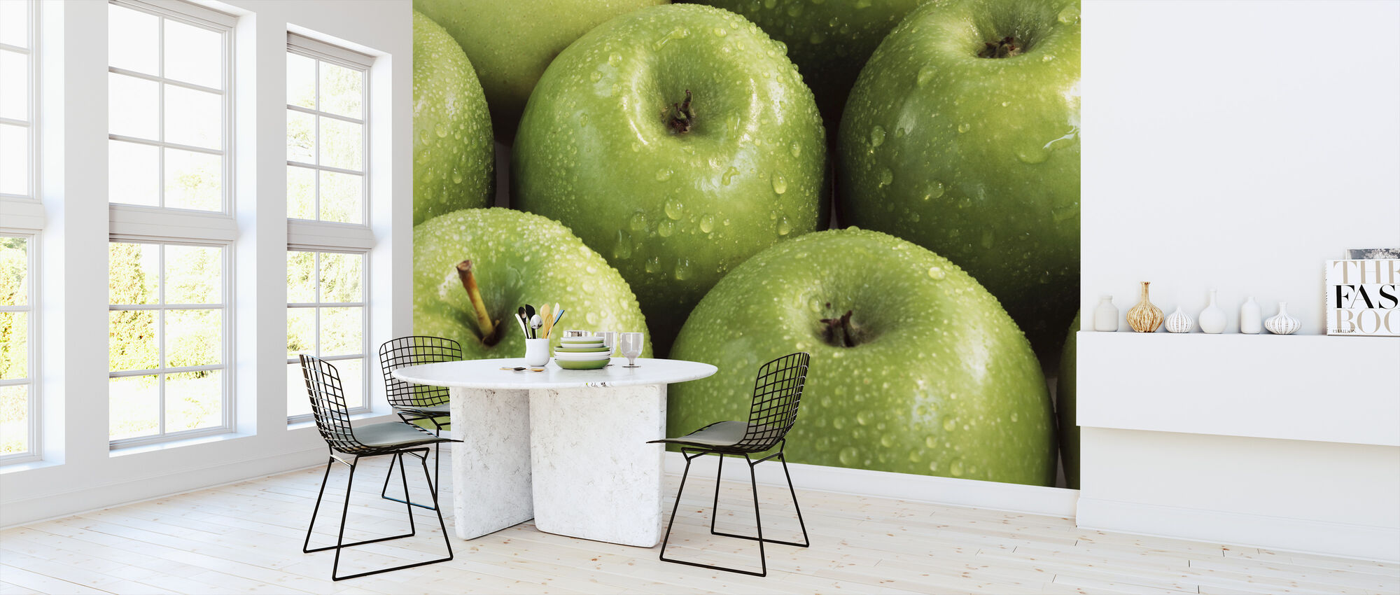 Apples - Wallpaper - Kitchen